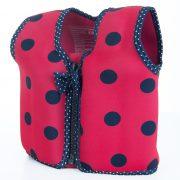 Pink Navy Ladybird