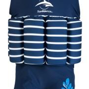 Floatsuit Navy Stripe