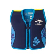 Konfidence Jacket Blue Palm