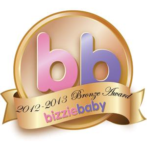 Bizziebaby Awards 2012/13 Bronze
