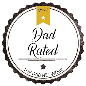 Dad Rated Awards 2015 Best Safety Product Gold