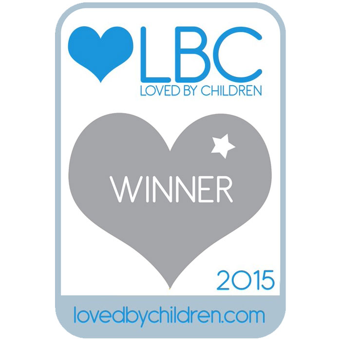 Loved by Children Awards 2015 Best Travel Accessory Silver