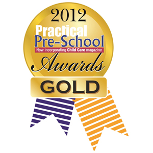 Practical Pre-School Awards 2012 Childcare Category Gold